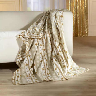 Hebká a příjemně hřejivá fleecová deka