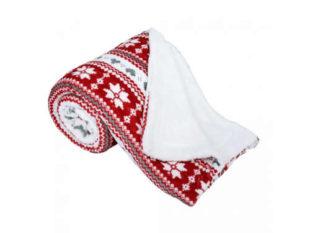 Oboustranná beránková hřejivá deka
